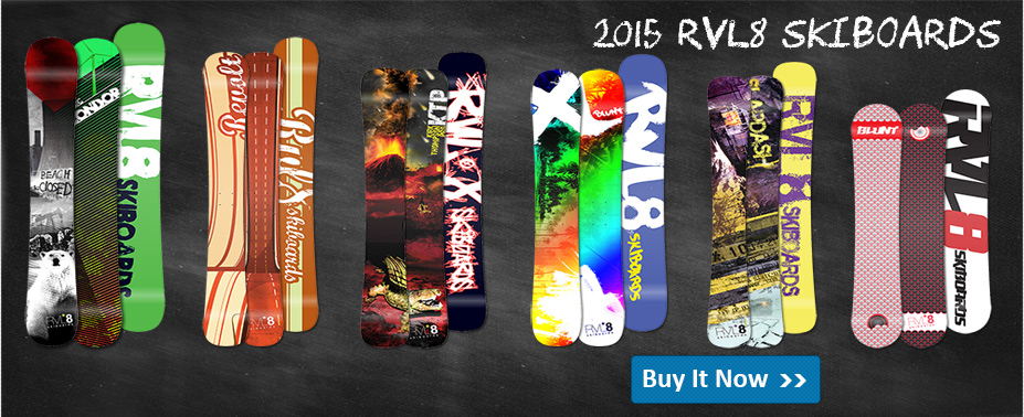 RVL8 2013 Skiboards